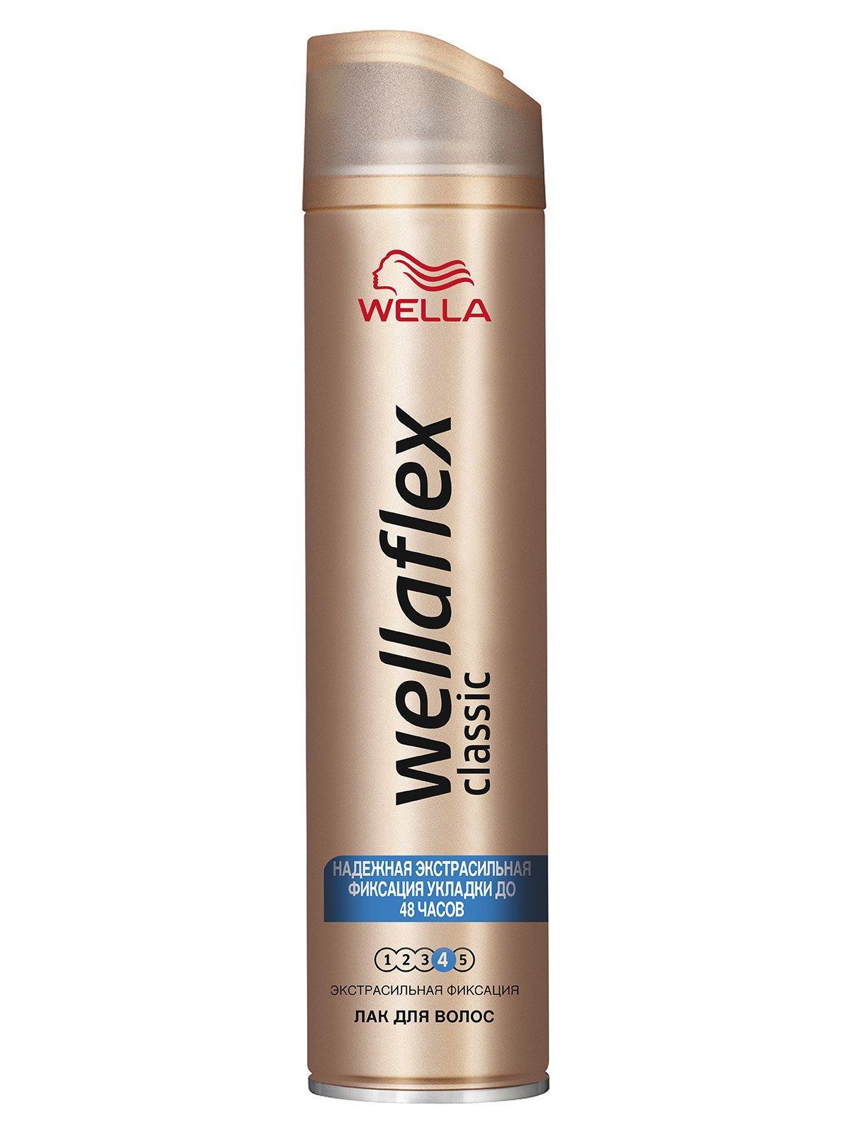 Лак для волос Wellaflex Classic экстрасильная фиксация