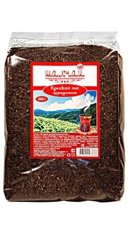 Чай крепкий черный 1 кг