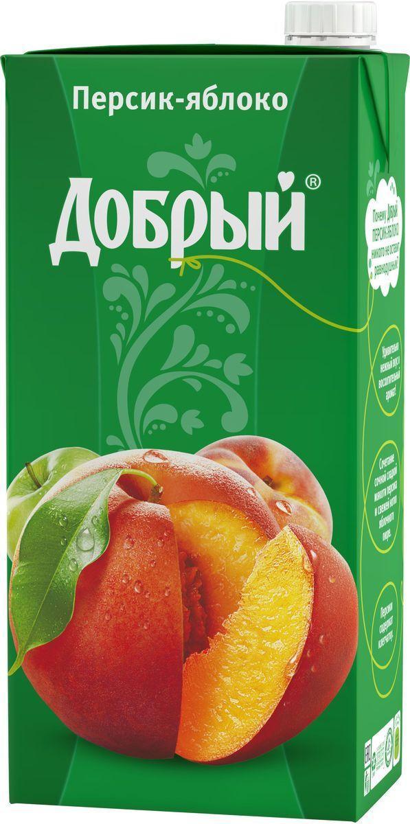 Сок Добрый Персик-Яблоко