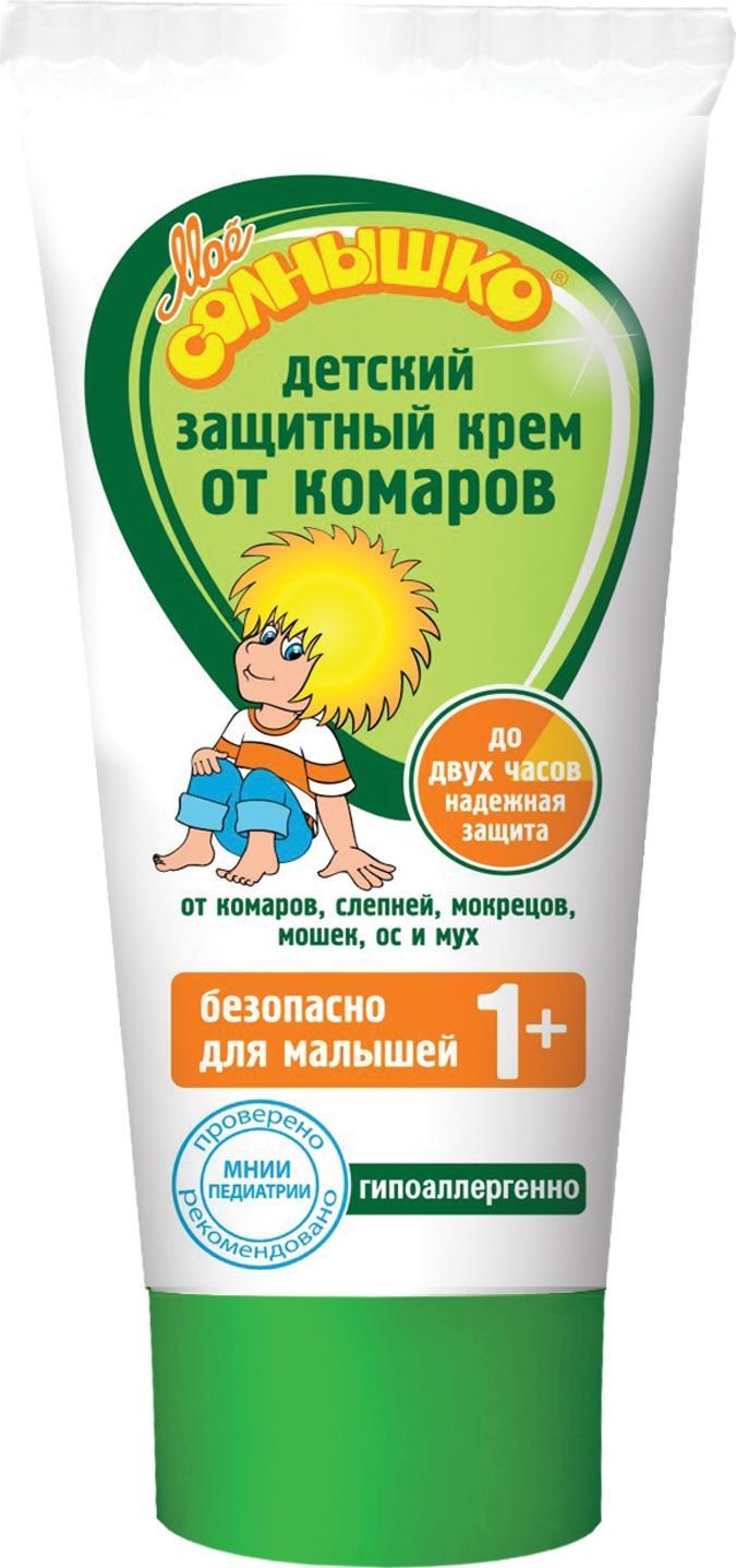 Крем от комаров Мое солнышко Детский 1+