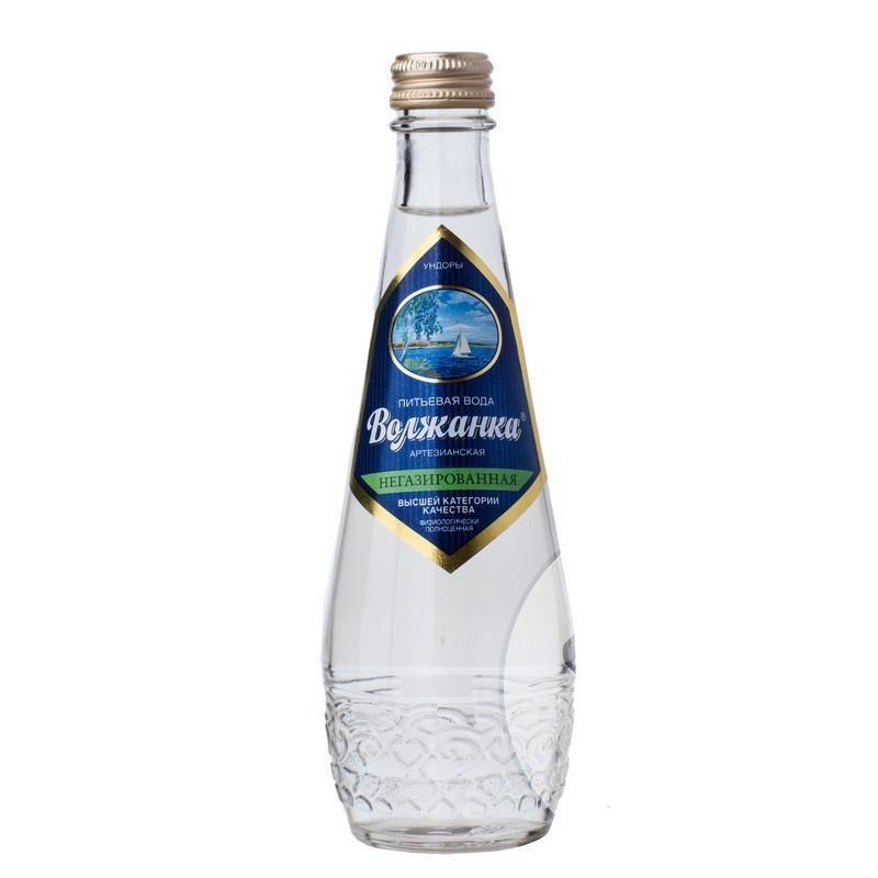 Вода Волжанка питьевая негазированная