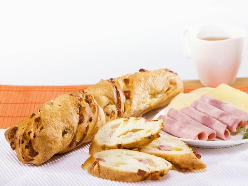 Хлеб Bonape с ветчиной и сыром