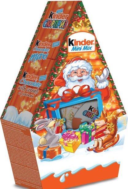 Набор кондитерских изделий Kinder Mini Mix Домик 106 гр