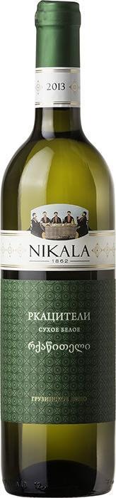 Вино Никала 1862 Ркацители / Nikala 1862 Rkatsiteli,  Ркацители,  Белое Сухое, Грузия