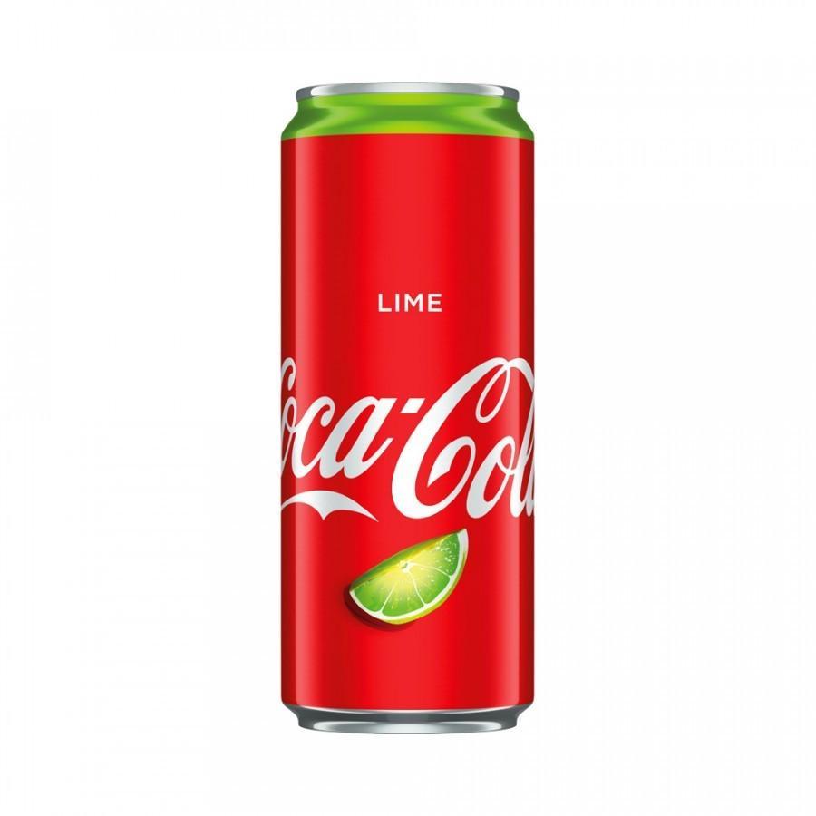 Газированный напиток Coca-Cola Lime