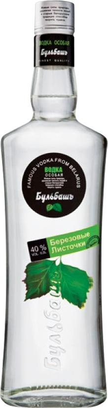 Водка Бульбашъ Березовые листочки 40%