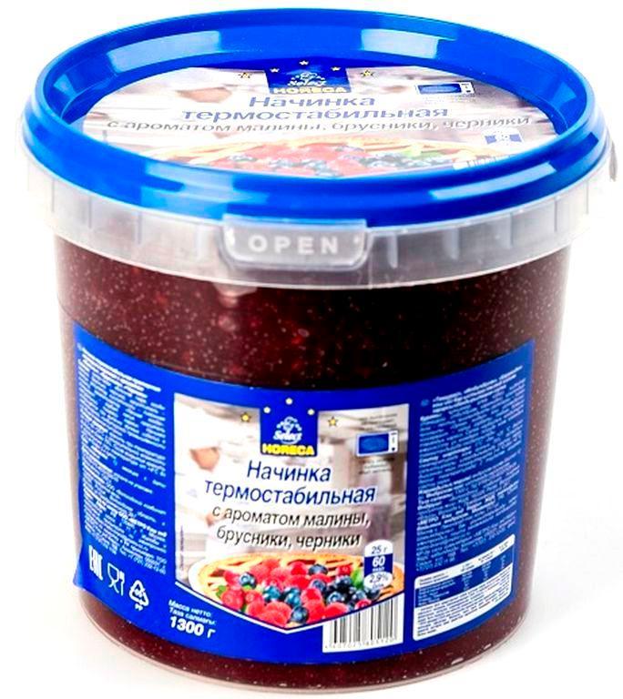 Начинка HORECA Select термостабильная с ароматом малины брусники черники