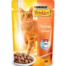 Корм Friskies для кошек курица в подливе