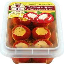 Красный перец Greco с сыром Фета