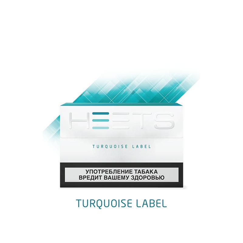 Стик Heets Turguoise Label для IQOS Parliament Turquoise Label