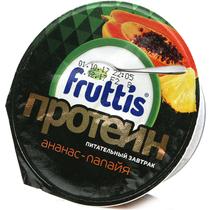 Йогуртный продукт Fruttis Протеин с ананасом и папайей 4,5% 150 г