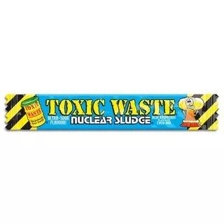 Жевательная конфета Toxic Waste Sour Blue Raspberry