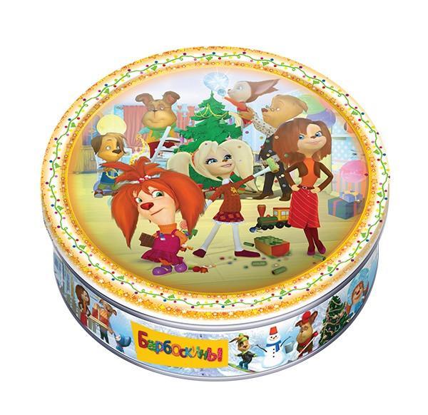 Печенье Сладкая Сказка Барбоскины сдобное со сливочным маслом