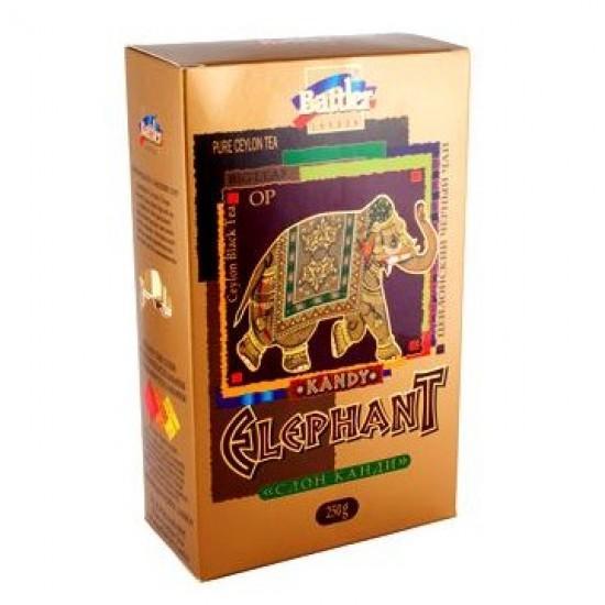 Чай Battler Парад слонов Цейлон слон Канди черный