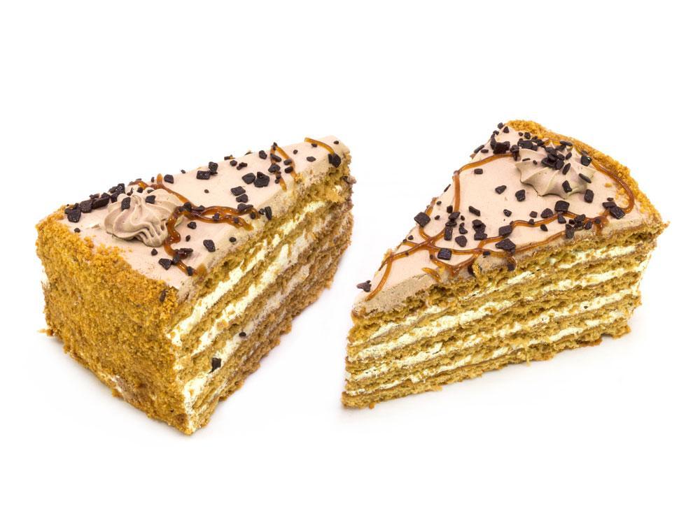 Пирожные Слоянка Счастливые с нежным кремом
