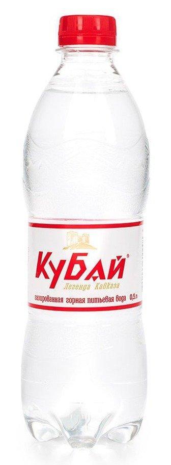 Вода питьевая Кубай Легенда Кавказа минеральная газированная