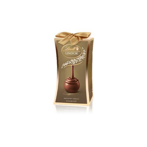Конфеты Lindor Lindt ассорти ореховые из шоколада