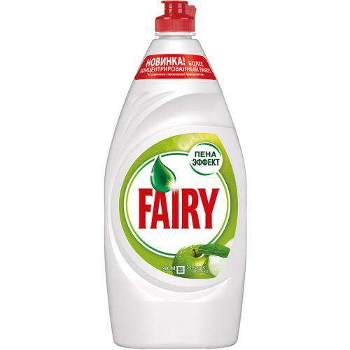 Средство для мытья посуды Fairy зеленое яблоко