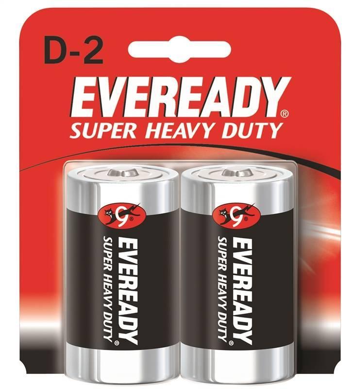 Батарейка Eveready солевая Super Heavy Duty тип D-R20 1,5V