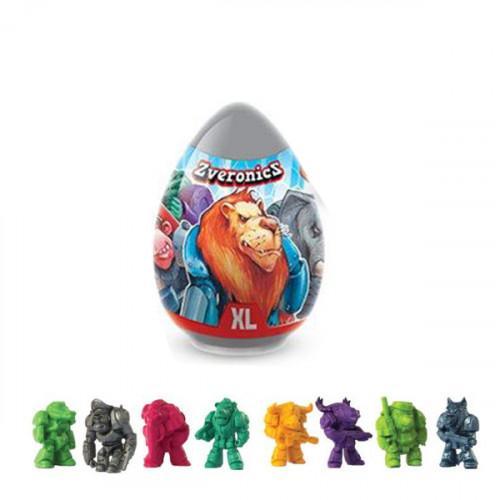 Мармелад Конфитрейд Zveronics с игрушкой в яйце XL