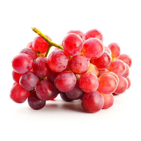 Виноград розовый свежий