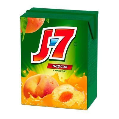 Сок J7 персик