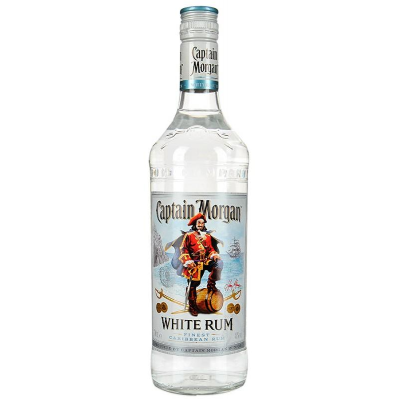 Ром Captain Morgan White 40% карибский