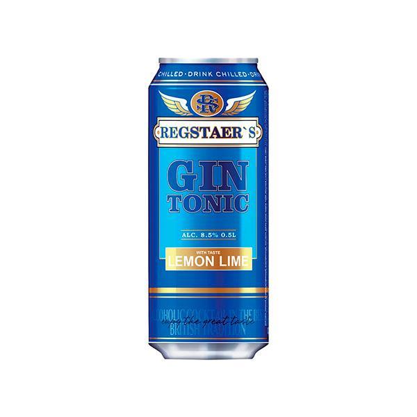 Коктейль Regstaer's gin-toniс лимон лайм винный газированный