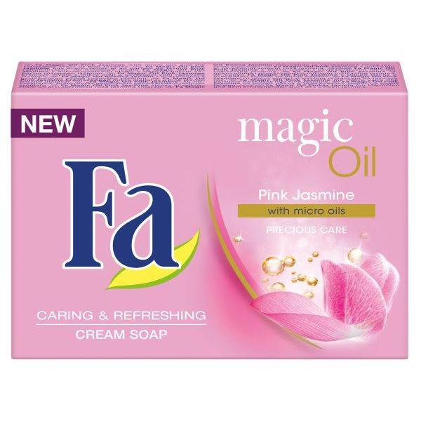 Крем-мыло Fa тайна масел розовый жасмин