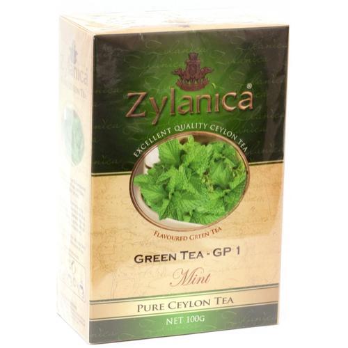 Чай Zylanica Ceylon Premium Collection Мята зеленый
