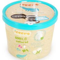 Мороженое пломбир Icecro сливочный с шоколадным печеньем