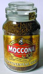 Кофе Moccona Kontinental Gold сублимированный 47.5 гр