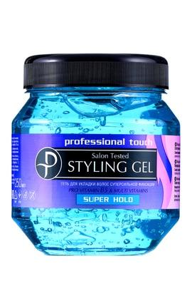Гель для волос для фиксации Proffesional touch суперсильной фиксации