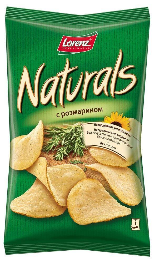 Чипсы Naturals картофельные с розмарином