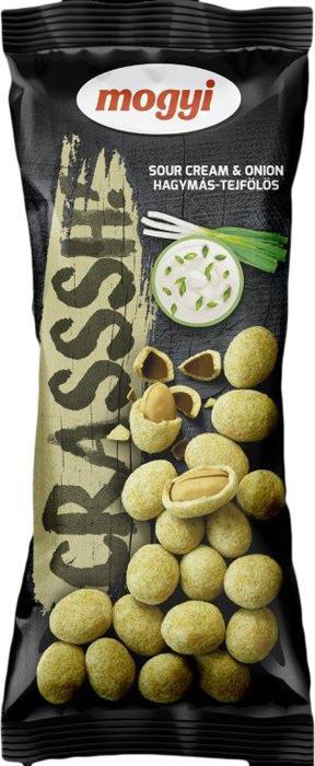 Арахис Mogyi Crasssh! Со вкусом сметана и лук