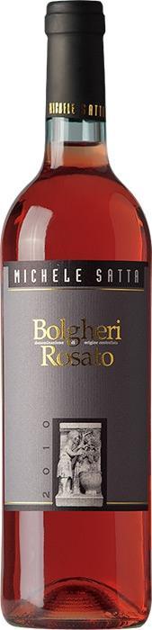 Вино Болгери Розато / Bolgheri Rosato,  Сира, Мерло, Санджовезе,  Розовое Сухое, Италия