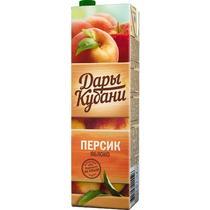 Нектар Дары Кубани Персик с яблоком  1 л.