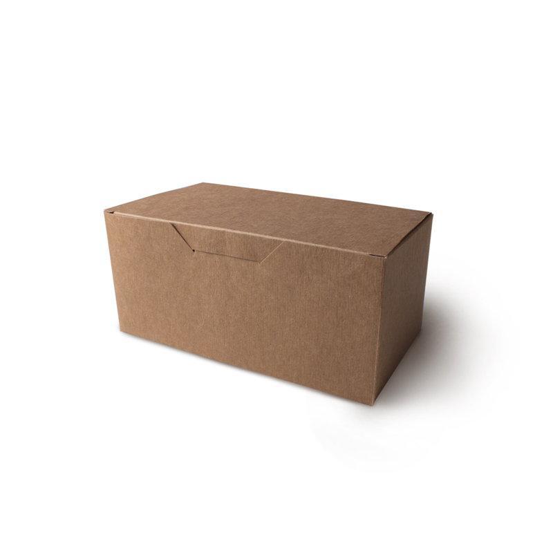 Упаковка для куриных крыльев и наггетсов,большая, крафт