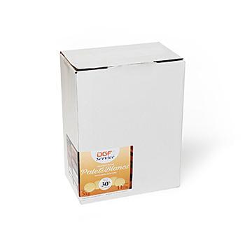 Шоколад белый 30% таблетки ;DGF Service ; 5 кг/упак. 2 упак./кор. FR