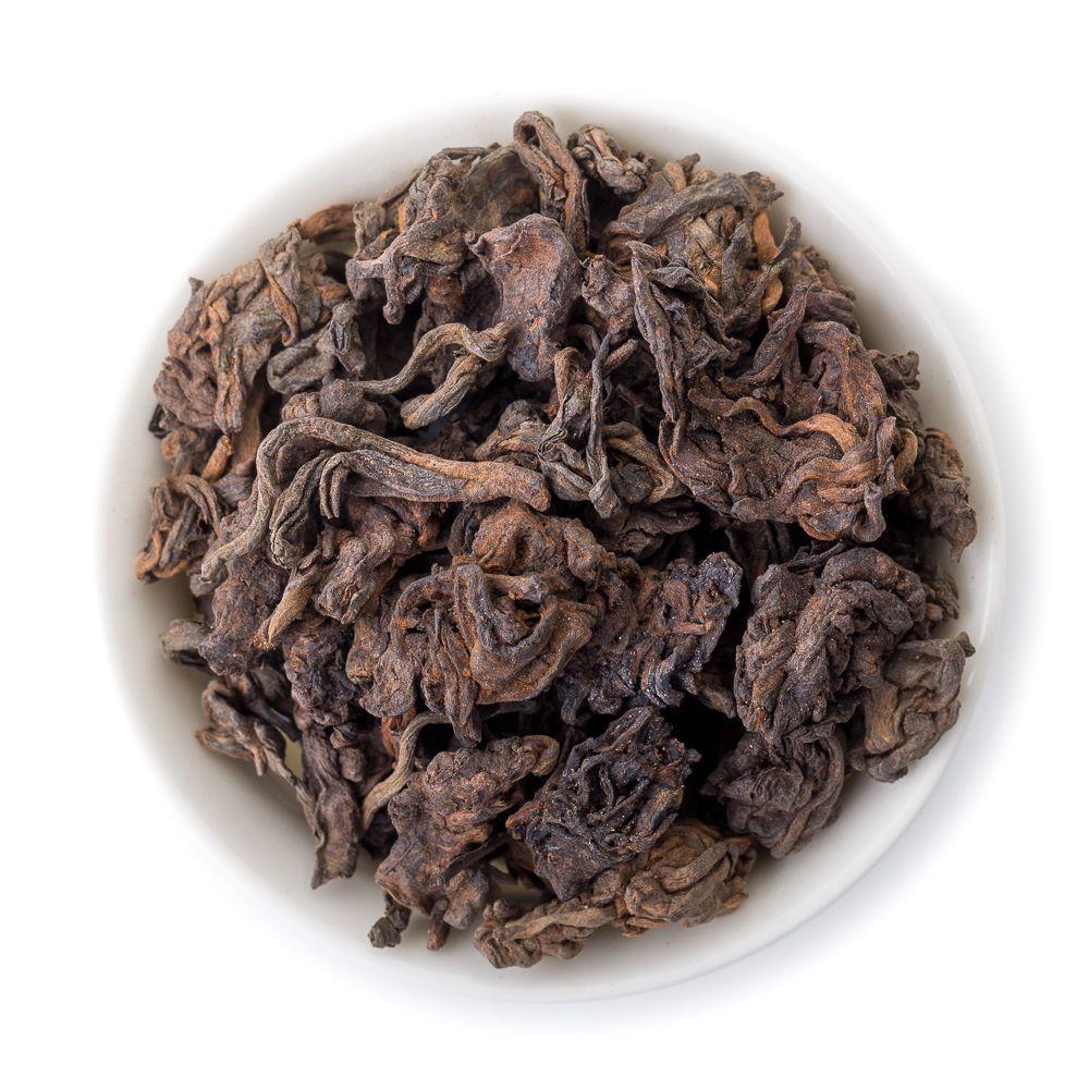 Чай листовой Пуэр Шу Дикий ча тоу