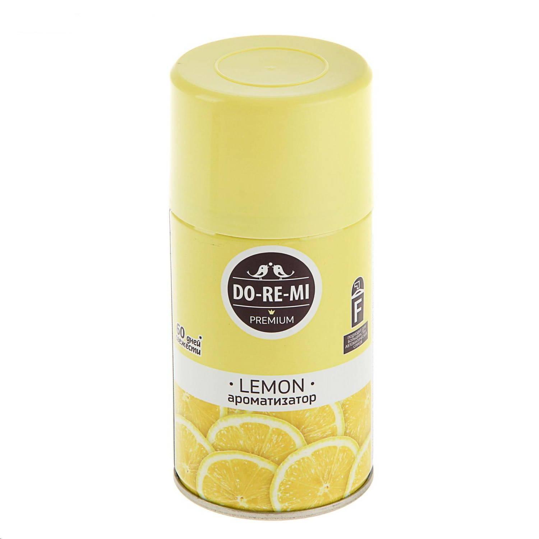 Освежитель воздуха До-ре-ми Премиум Лимон Сменный блок