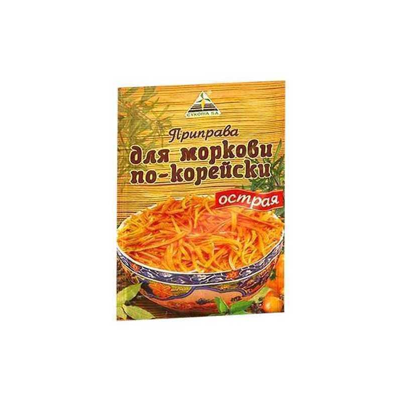 Приправа Cykoria S.A для моркови по-корейски острая