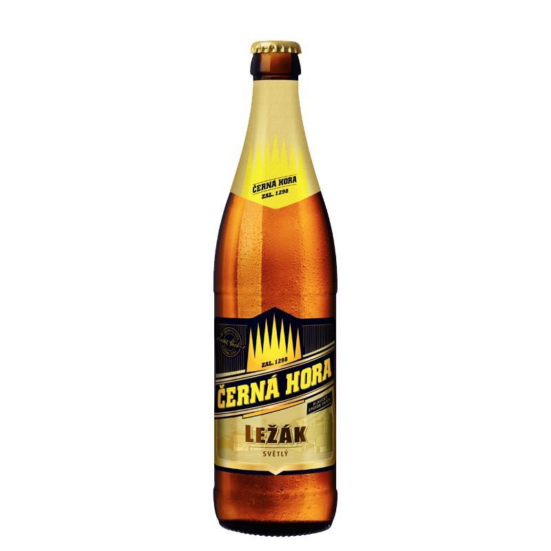 Пиво Cerna Hora Lezakтемное фильтрованное