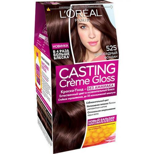 Стойкая краска-уход для волос L'Oreal Paris Casting creme gloss Без аммиака 525 Шоколадный фондан