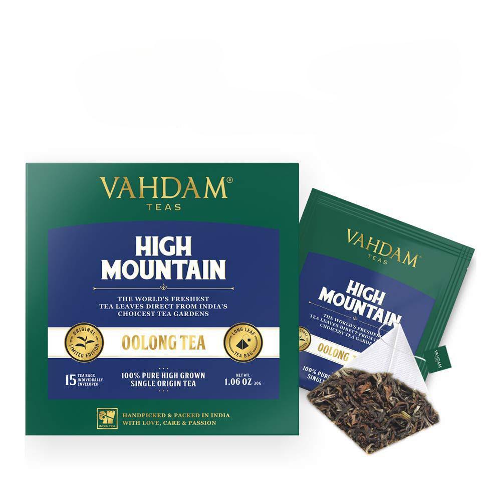 Чай Vahdam Teas Hign Mountain Oolong 15 пакетов