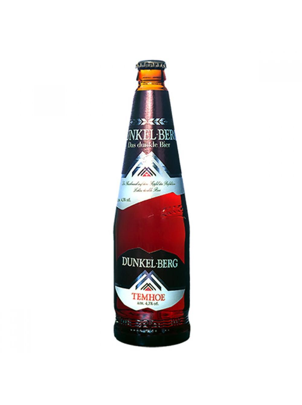 Пиво Бочкари Dunkel Berg темное фильтрованное непастеризованное 4,3%