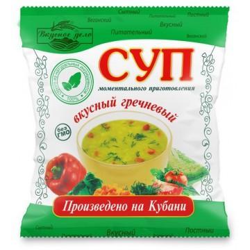 Суп Вкусное дело Гречневый моментального приготовления