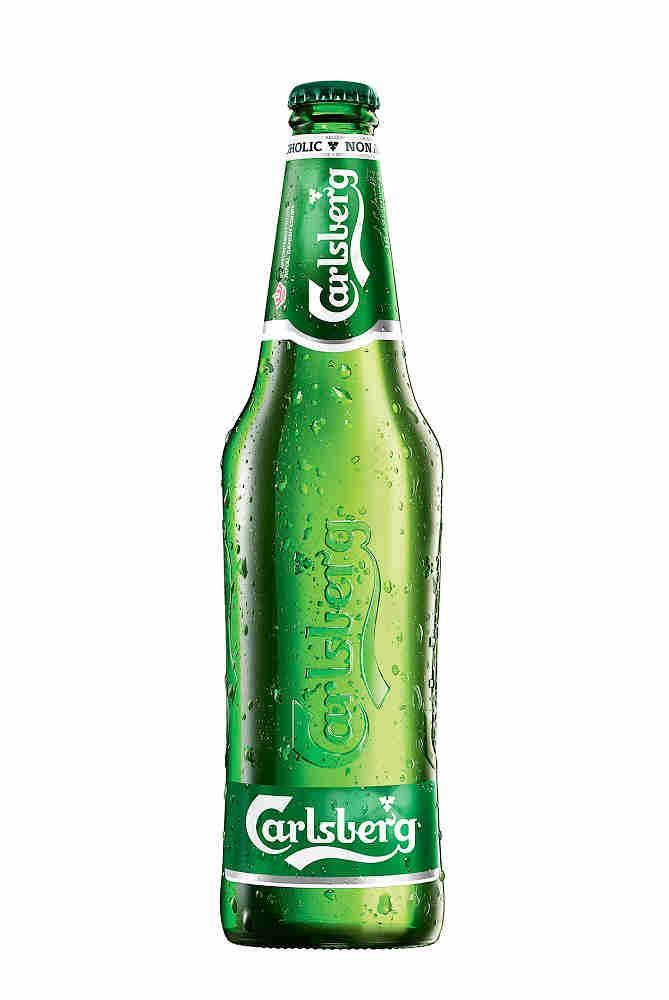 Пиво безалкогольное, пастеризованное Carlsberg 0,5%, 500 мл., Стекло