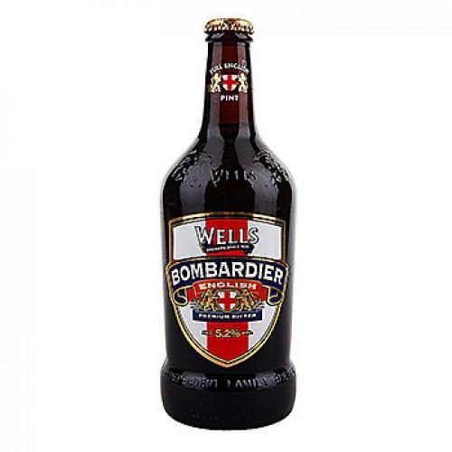 Пиво Bombardier темное 5,2%