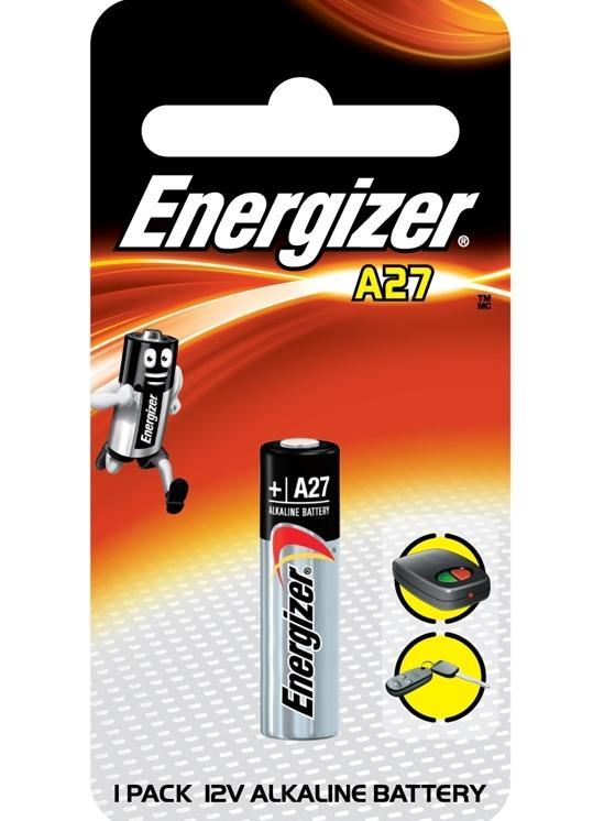 Батарейка Energizer Alkaline A27 FSB2 1 шт
